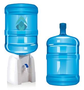 2 bidones 20 lts dispensador de sobremesa agua for Bidones para agua